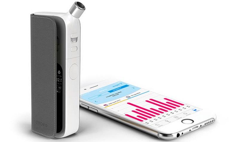 Enovap, une cigarette électronique connectée
